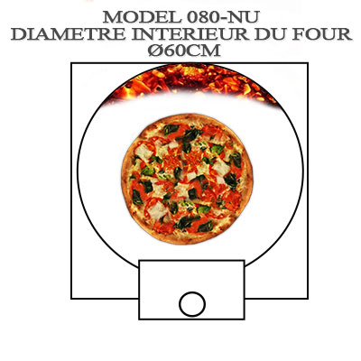 Rendement four à pizza Ø60cm