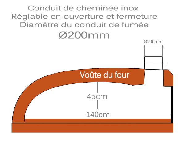 Hauteur-interieur-four-a-pizza-isopack-Ø140cm