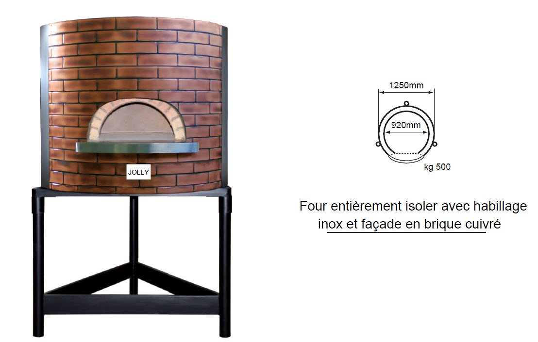 four-a-pizza-jolly-rifinito-façade-cuivre